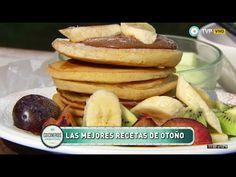 Pancakes con banana y dulce de leche - Recetas – Cocineros Argentinos
