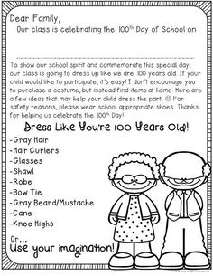 Fluttering Through First Grade: 100th Day of School