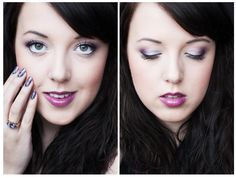 Tutorial on: http://www.make-up-today.com/2013/01/violet-hill-tutorial.html