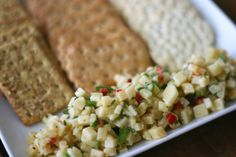 Cheese and Crackers for Grown-Ups