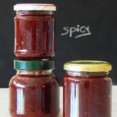 Ευρετήριο Συνταγών Spicy Recipes, Sweet Recipes, Chilli Jam, Chutney, Food For Thought, Food To Make, Salsa, Recipies, Food And Drink