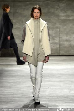 Model Eliza Hartmann for Parkchoonmoo AW15 NYFW 2/15/15