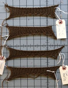 Stretchy Bind Off Comparisons.
