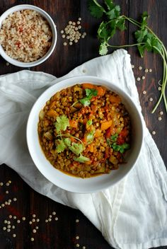 Jamaican Curried Lentils — Kale Yeah, It's Vegan