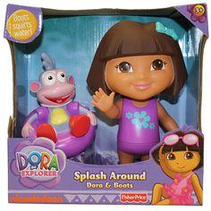 DORA THE EXPLORER & BOOTS SPLASH AROUND   Kids Cool Toys UK