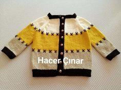 Baby Cardigan, Cardigan Bebe, Baby Pullover, Baby Knitting Patterns, Baby Patterns, Toddler Vest, Gilet Crochet, Pull Bebe, Hoodie Pattern
