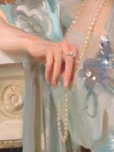Louis Raphael, detail - 1906 - oil on canvas - Montgomery Museum of Fine Arts Renaissance Paintings, Renaissance Art, Aesthetic Painting, Aesthetic Art, Wow Art, Old Paintings, Classical Art, Pretty Art, Oeuvre D'art