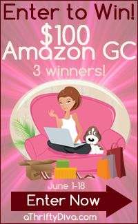Win 100 GC to Amazon #Giveaway {3 Winners} Ends 6/18