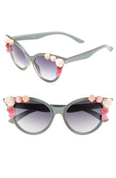 Omg obsessed...BP. Rosette Cat's Eye Sunglasses available at #Nordstrom