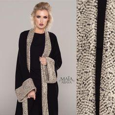 Este posibil ca imaginea să conţină: 1 persoană Niqab Fashion, Muslim Fashion, Kimono Fashion, Fashion Dresses, Hijab Dress Party, Modele Hijab, Black Abaya, Mode Abaya, Iranian Women Fashion