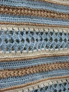 Soft Shells Baby Blanket By Marilyn Losee - Free Crochet Pattern - (ravelry)* ༺✿ƬⱤღ  https://www.pinterest.com/teretegui/✿༻