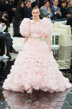 Lily-Rose Depp just cemented her It model status by closing the Chanel Couture show in Paris. See her Chanel bridal look here.