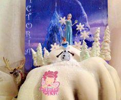 Frozen Disney Cake, Olaf & ELsa