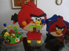 Light Goes Decorating: ANGRY BIRS