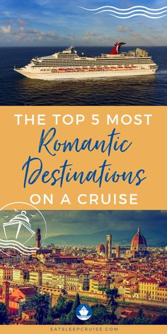 Are you planning a romantic cruise vacation to celebrate an anniversary or as a honeymoon destination? A cruise is a perfect way to renew your wedding vows or celebrate a big event. You can pick & choose the package that is right for you on board, and any shore excursions that you want to add. Whether you want to cruise to the Caribbean, Italy, Hawaii, or many more there is a destination for every interest. Check out these 5 most romantic locations and get ready when cruising resumes. Cruise Excursions, Cruise Destinations, Romantic Destinations, Shore Excursions, Packing List For Cruise, Cruise Tips, Cruise Travel, Cruise Vacation, Bermuda Vacations