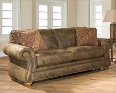 Broyhill Leather Sleeper Sofa