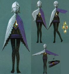 animationtidbits: The Legend of Zelda: Skyward Sword - Character Design