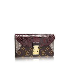 LOUISVUITTON.COM - Louis Vuitton Majestueux Wallet (LG) MONOGRAM EXOTIQUE Small Leather Goods