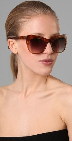 I am smitten with these Elizabeth and James Lafayette Cat Eye sunnies.