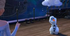 I got You Are as Excited as Olaf Getting a Personal Flurry! How Excited Are You For Frozen 2? | Oh My Disney