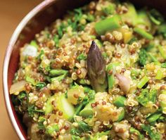 Herbed Quinoa Risotto Recipe  One of many anti-inflammatory recipes.  Yum!