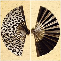 HANDMADE  Hand Fan  FREE shipping by HandFansbyLora on Etsy, $35.00