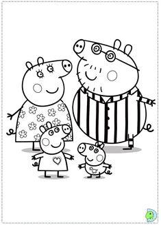 12 Best Peppa Pig Images Peppa Pig Peppa Pig Coloring Pages Pigs