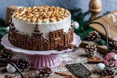 himbeertorte-mit-gebrannten-mandeln-004-mitliebezurtorte Good Enough To Eat, Tiramisu, Birthday Cake, Sweets, Baking, Ethnic Recipes, Desserts, Christmas, Food