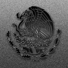 Mexican Flag Eagle #2 by dragonprow.deviantart.com on @deviantART