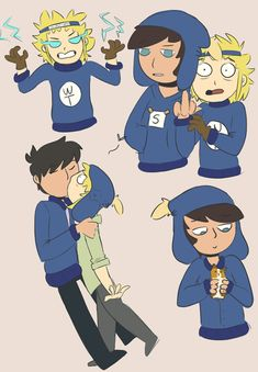 help im in love with septicmelon's art its so good Tweek And Craig, Tweek South Park, Park Pictures, Cute Couples, Bae, Fan Art, Infinite, Ships, Fictional Characters