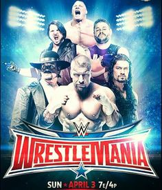 Another Wrestlemania 32 poster.