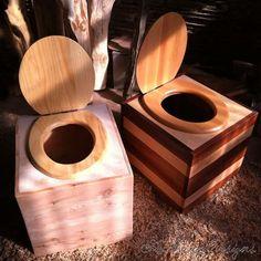 composting toilet box - outside loo?!