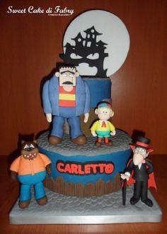 Fabrizio Gaboardi - Sweet Cake di Fabry #cakedesign #cartoon #carletto