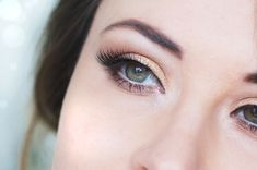 maquillage yeux dore nude