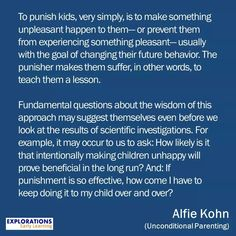 Punishment - Alfie Kohn