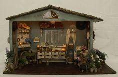 Home & Garden Artofmini.com kits bastelsets bausatze miniaturen 1:12 huis en tuin