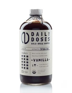 Daily Doses Cold Brew Coffee