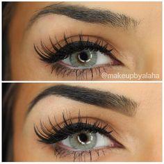 Eyebrows Before & After makeupbyalaha