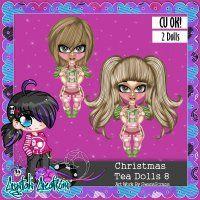 Christmas Tea Dolls 8
