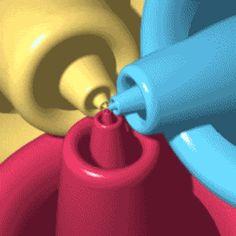 Эффект Дросте — зацикленное рекурсивное изображение.