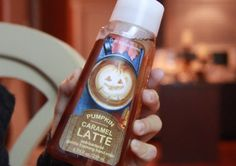 """Pumpkin Caramel Latte Foaming Hand Soap from Bath and Bodyworks. Scene from my """"Fall Haul and Decor: Thanksgiving Table Setting"""" video at https://www.youtube.com/watch?v=zbw1-6irL4M"""