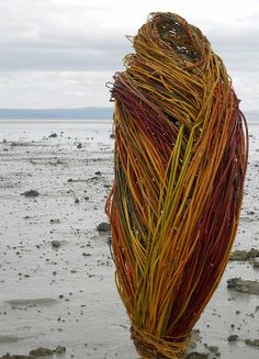 Beautiful Willow and Dogwood sculpture by Donna Crispin