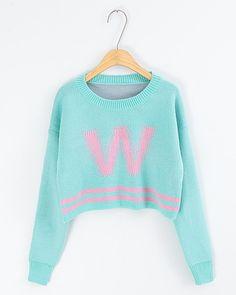 Irregular classical stripes white sweater black sweater $22.00 ...