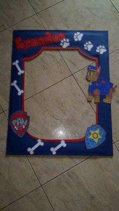 Paw Patrol photo frame