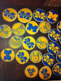Image detail for -Michigan / University - Hayley Cakes, Cupcakes and Cookies