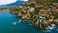Playa La Ropa beach in Zihuatanejo, Mexico. I would love to go back to Zihua. It's my favourite part of Mexico.