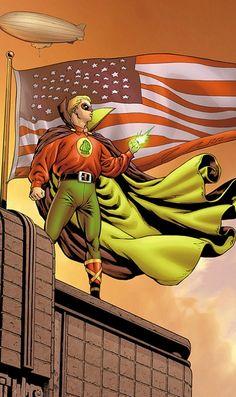 The original Golden Age Green Lantern, Alan Scott - DC Comics