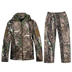 online shopping for Hunting Jackets Waterproof Hunting Camouflage Hoodie Unisex Military Camo Tactical camouflage from top store. See new offer for Hunting Jackets Waterproof Hunting Camouflage Hoodie Unisex Military Camo Tactical camouflage Hunting Suit, Camo Hunting Jacket, Hunting Camouflage, Camouflage Jacket, Hunting Jackets, Camo Jacket, Hunting Clothes, Field Jacket, Hoodie Jacket