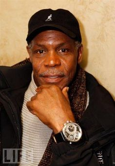 Danny Glover wearing a Curtis & Co. Big Time World Four TIme Zone 1664 watch