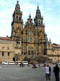 Catedral de Santiago exterior.